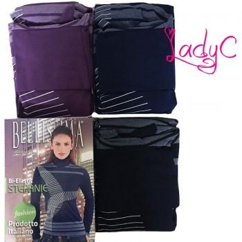 BELLISSIMA maglia donna manica lunga dolcevita art. Stefanie