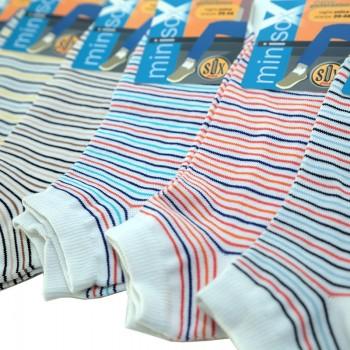 6 Paia calzini uomo cotone elasticizzato pariscarpa art. P227