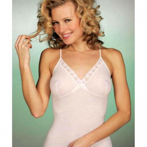 GICIPI top donna misto lana con forma seno art.423