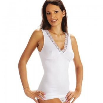 Vajolet canotta donna spalla larga con forma del seno art.SL5721