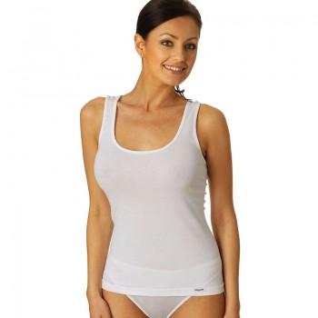 Vajolet canotta donna spalla larga in cotone elasticizzato art.SL4776