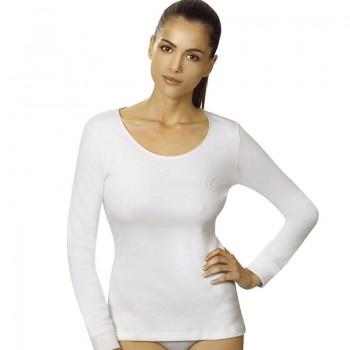 Vajolet maglia donna manica lunga cotone interlock art. ML5394
