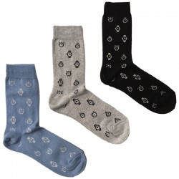 MASK-CALZINO set 3 paia calze cotone caldo corte unisex OROLOGI