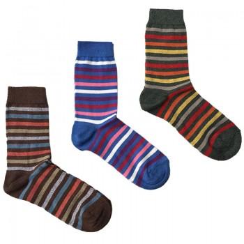 MASK-CALZINO set 3 paia calze cotone caldo corte unisex RIGA