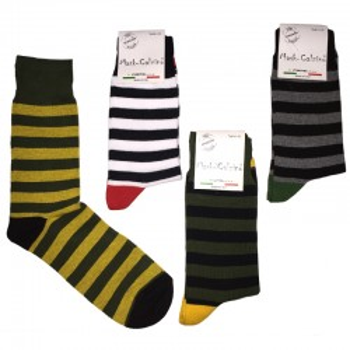MASK-CALZINO set 4 paia calze cotone caldo corte uomo FASCE