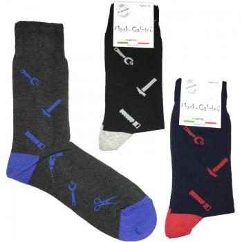 MASK-CALZINO set 3 paia calze cotone caldo corte uomo ATTREZZI