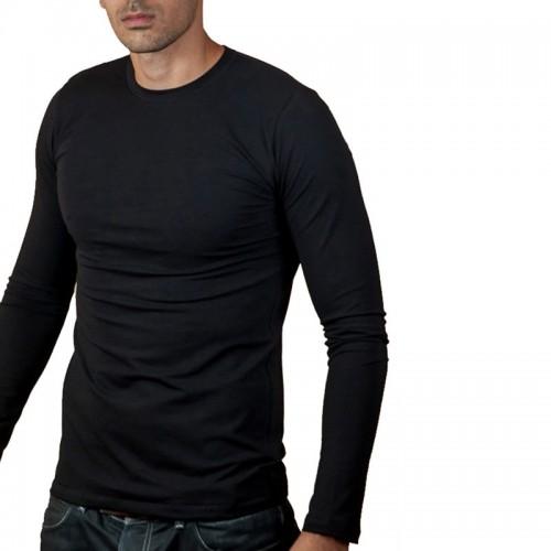 T-shirt cotone bielastico uomo XLIP manica lunga art. 1351