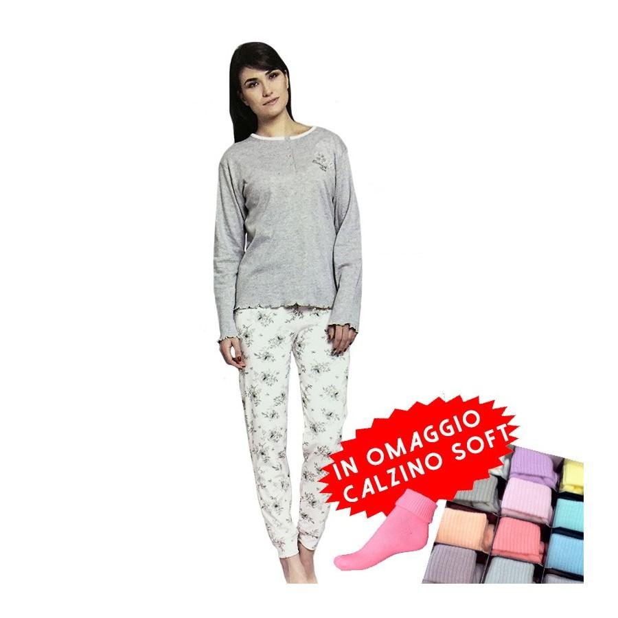 CIPPI pigiama donna cotone interlock art. 2774