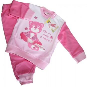 NAVIGARE pigiama interlock bimba art.100270