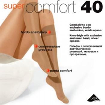 FILODORO conf. 4 paia gambaletto supercomfort 40 DEN