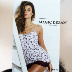 CAMISOLE BABYDOLL IN LYCRA MAGIC DREAM art. 7091