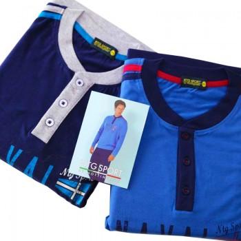 NOTTINGHAM pigiama in cotone uomo art. PG21685
