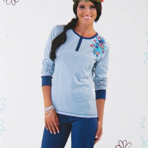 IN-UP pigiama in cotone donna art. PG22549