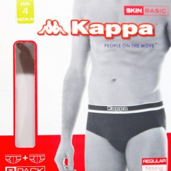 KAPPA set 2 slip cotone elasticizzato uomo art. 302PTR0