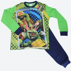 PLANETEX pigiama cotone bimbo TURTLES art. 16020