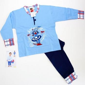 GARY pigiama bimbo cotone lungo art.190035