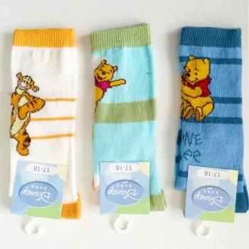 (3paia) Calzini in cotone caldo neonato Winnie Pooh