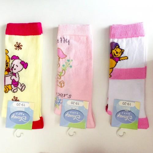 (3paia) Calzini in cotone caldo neonata Winnie Pooh