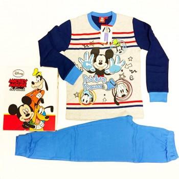 WALT DISNEY pigiama interlock bimbo Topolino art.WD16430