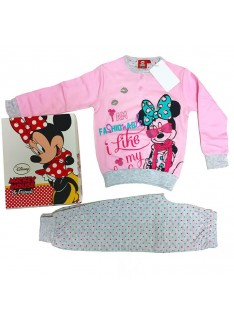 WALT DISNEY pigiama interlock bimba art.WD22723