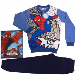 PLANETEX pigiama bimbo interlock SPIDERMAN art.MV16104