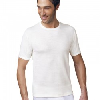 (3pz) T-shirt in lana e cotone girocollo NOTTINGHAM TM18