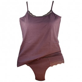 Completo ragazza in cotone MAGIC DREAM canotta + slip art. 7021
