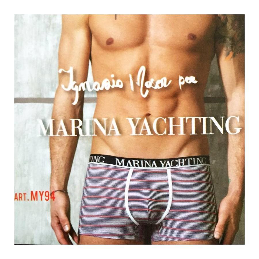 3 Boxer uomo MARINA YACHTING in cotone elasticizzato art. MY94E