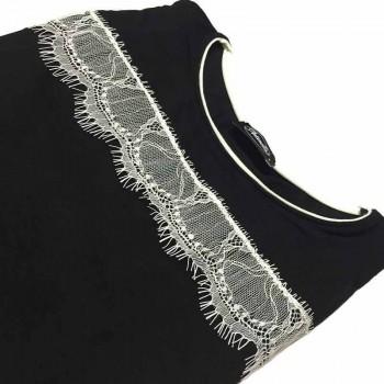 Maglia manica lunga in cotone modal ANTONELLA art. 64012