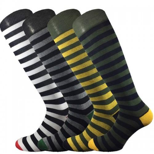 4 Paia calze cotone caldo MASK-CALZINO lunghe uomo BANDE