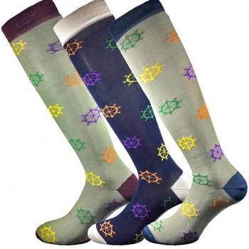 3 Paia calze cotone elasticizzato MASK-CALZINO lunghe uomo TIMONE