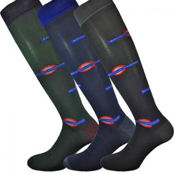 3 Paia calze lunghe in cotone elasticizzato uomo MASK-CALZINO metro'