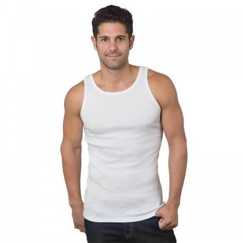 NOTTINGHAM Confezione N 2 Maglia Vogatore Spalla Larga Uomo Cotone Pettinato Disponibile nel Colore Bianco