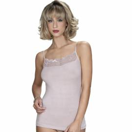 Top in micromodal inserto pizzo ANTONELLA art. 63260