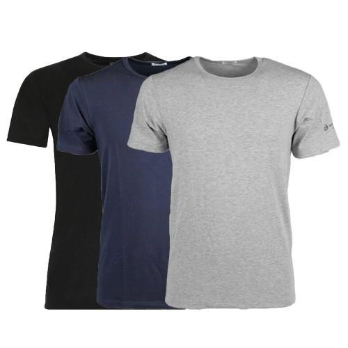 (3pz) T-shirt in cotone bielastico uomo SERGIO TACCHINI TM550