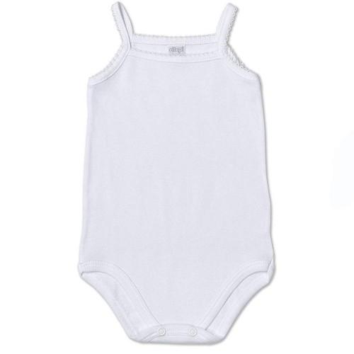 2 Body cotone leggero neonata ELLEPI spalla stretta art. AF3624