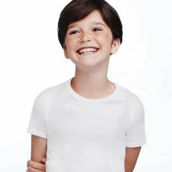 (3pz) T-shirt invernale in cotone caldo bimbo ELLEPI