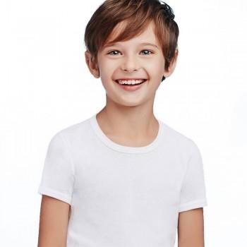 (3pz) T-shirt in cotone leggero ELLEPI bimbo BA645