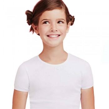 3 T-shirt in cotone elasticizzato ELLEPI bimba art. 4465