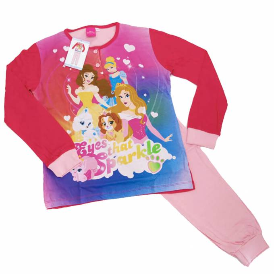 DISNEY pigiama bimba cotone PALACE PETS art.22762