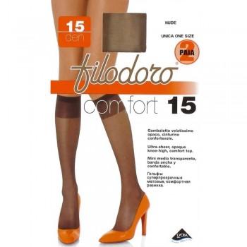 FILODORO conf. 2 paia gambaletto comfort 15 DEN