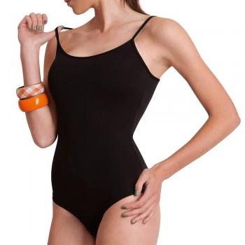 Body in cotone elasticizzato COTONELLA spalla sottile art. GD008