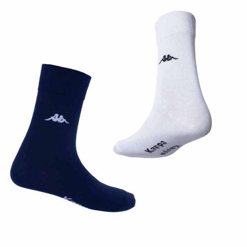 KAPPA set 6 paia calza corta cotone elasticizzato uomo art. K546