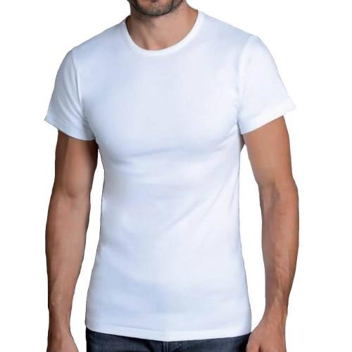 3 T-shirt uomo NOTTINGHAM in cotone interlock girocollo art. FOLK