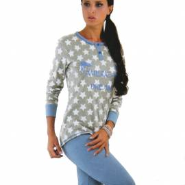 IN-UP pigiama in cotone donna art. PG22611