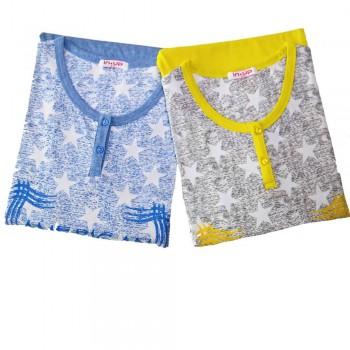 IN-UP pigiama in cotone donna art. PG22611