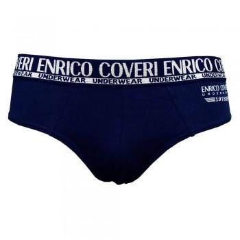 ENRICO COVERI set 4 slip in cotone elasticizzato uomo art. ES1500