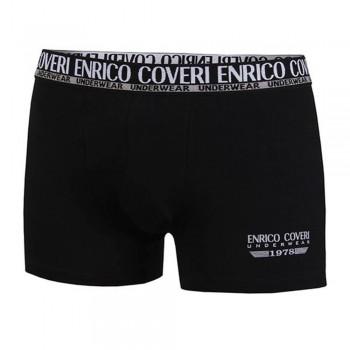 ENRICO COVERI set 4 boxer in cotone elasticizzato uomo art. EB1500