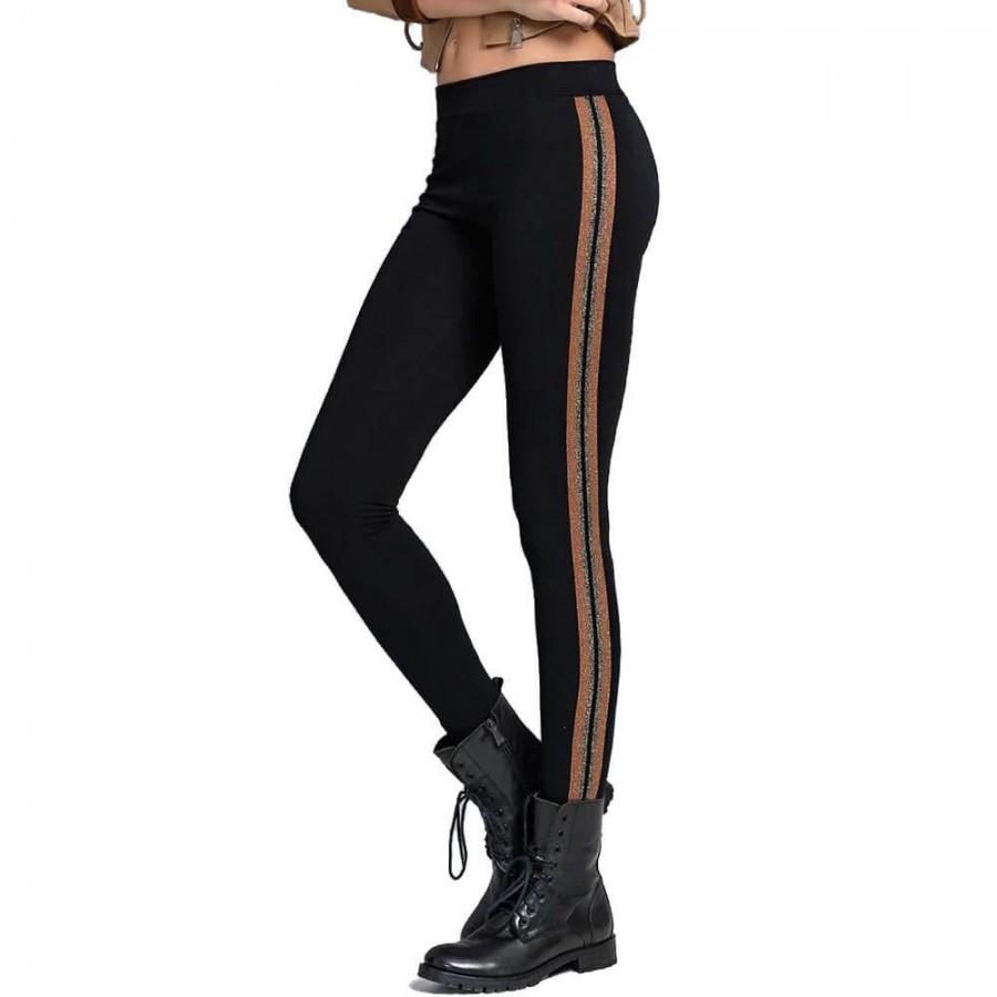 Leggings in cotone elasticizzato JADEA art. 4082