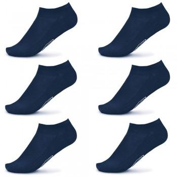 6 Paia minicalze POMPEA uomo in cotone elasticizzato